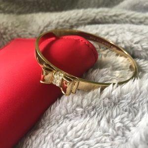 Kate Spade Rhinestone Bow Bracelet